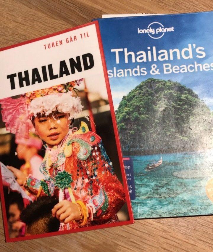 Vi er på vej til Thailand