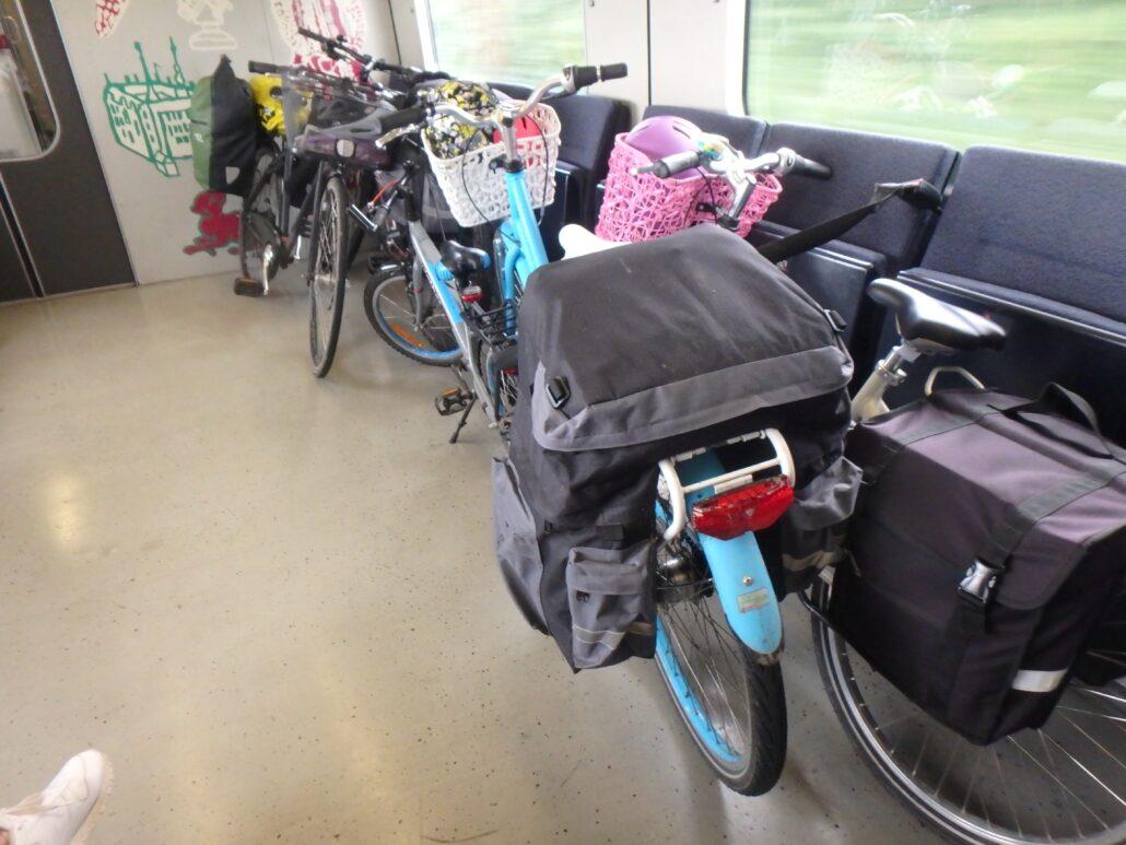 cykel med DSB