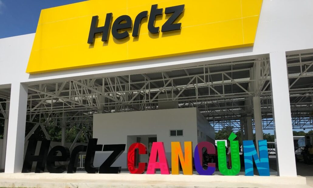 Hertz Cancun Airport drop-off