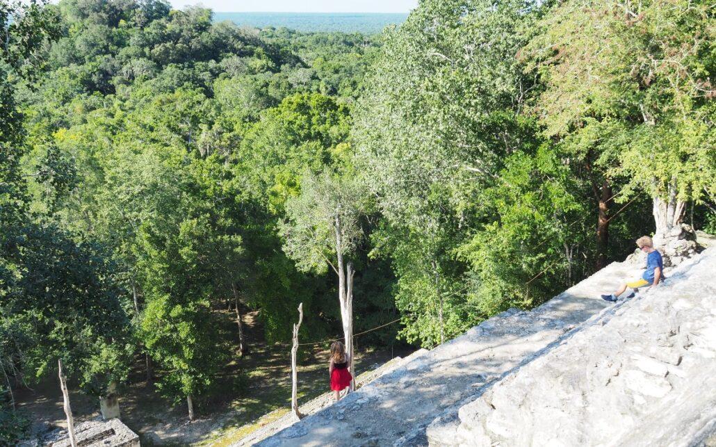 Calakmul ruins