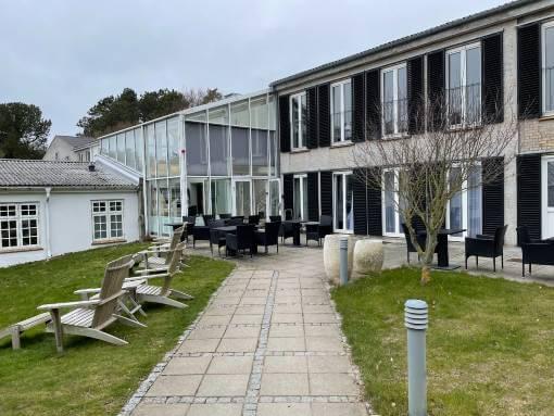 Strandhotel Røsnæs udendørs arealer